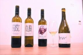 Algunos de los vinos probados